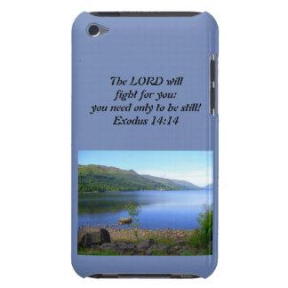 Christian Iphone or Ipad Case- Exodus 14:14 iPod Case-Mate Case