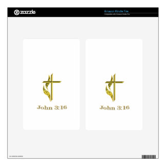 christian items kindle fire decal