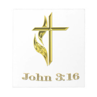 christian items notepad