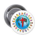Christian Kids 2 Inch Round Button