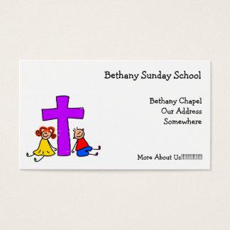 Christian Kids, Business Card