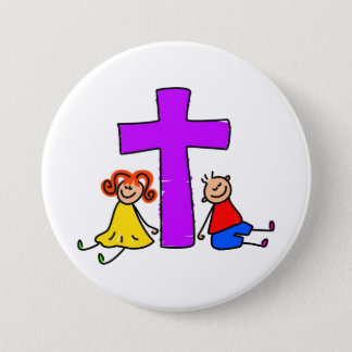 Christian Kids Button