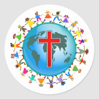 Christian Kids Classic Round Sticker