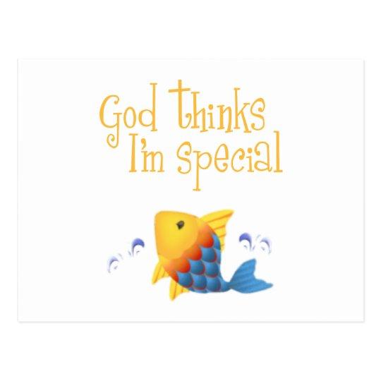 Christian Kids Gift Postcard