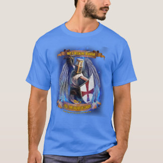 Christian Knight Soldier of Christ T-shirt