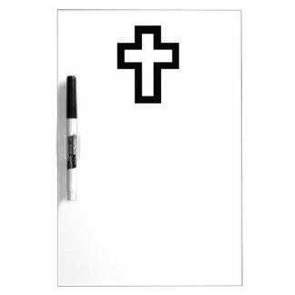 Christian (Latin) Cross Dry-Erase Board