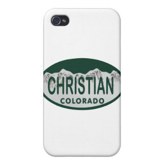 Christian license oval cases for iPhone 4