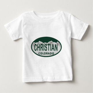 Christian license oval tees
