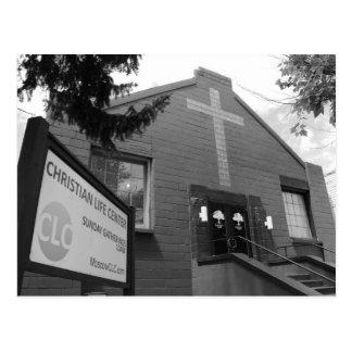 Christian Life Center Postcard