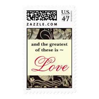 Christian Love stamp