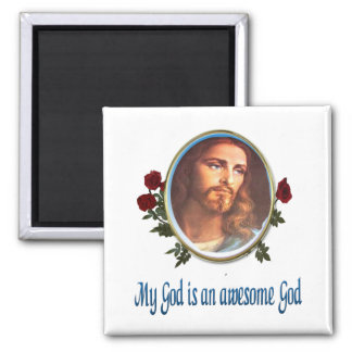 Christian Magnets Awesome God
