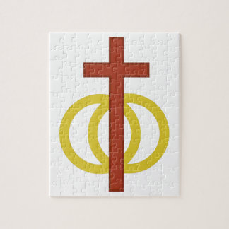 Christian Marriage Symbol Puzzle