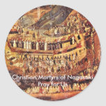 Christian Martyrs of Nagasaki Small Stickers (20/p