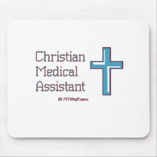 Christian Medical Assistant Mouse Pad