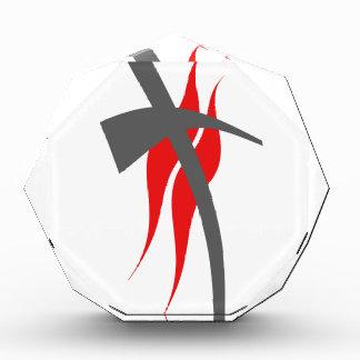 Christian / Methodist cross 2 Acrylic Award