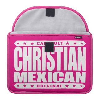 CHRISTIAN MEXICAN - God Loves Brave Mayan Warriors Sleeve For MacBooks