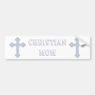Christian Mom Bumper Sticker
