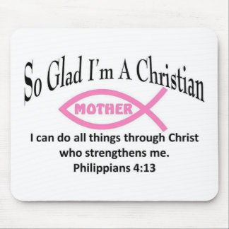 Christian Mother Mouse Pad