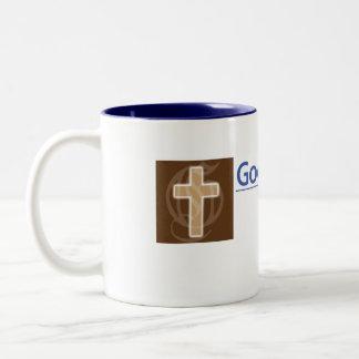 Christian mug: Available for Chat Two-Tone Coffee Mug
