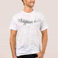 Christian Muscle Shirt Philippians 4:13