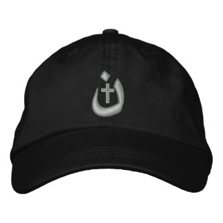 Christian Nasarene Cross Solidarity Embroidered Hats