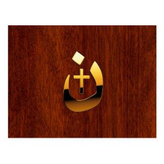 Christian Nazarene and Cross Solidarity Postcard