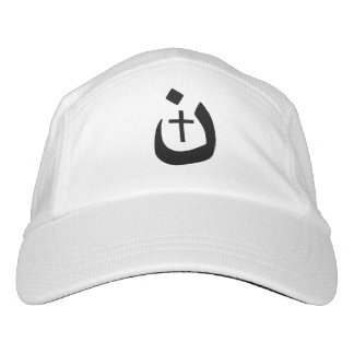 Christian Nazarene Cross Solidarity Black Style Headsweats Hat