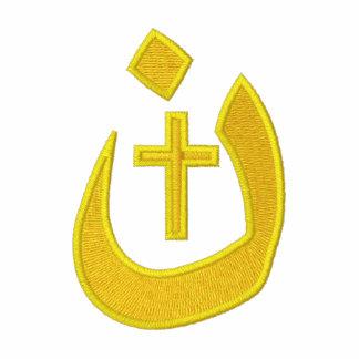 Christian Nazarene Symbol Cross Solidarity Polo Shirt