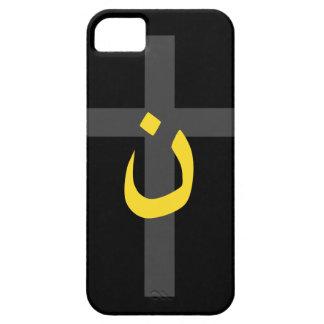 Christian Nazarene Symbol Solidarity and Cross iPhone SE/5/5s Case