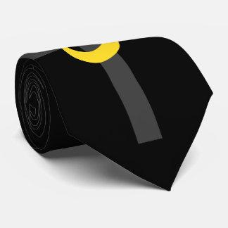 Christian Nazarene Symbol Solidarity and Cross Neck Tie