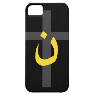 Christian Nazarene Symbol Solidarity Cross Bold iPhone SE/5/5s Case