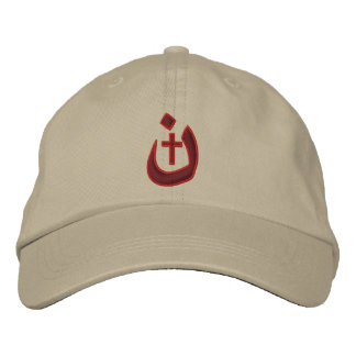 Christian Nazarene Symbol Solidarity Stitches Embroidered Baseball Cap