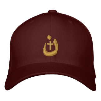Christian Nazarene Symbol Solidarity Stitches Embroidered Baseball Hat