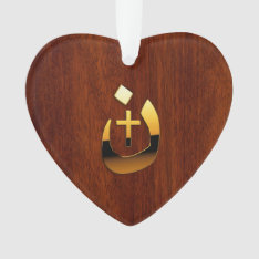 Christian Nazarene Symbolic Ornament at Zazzle