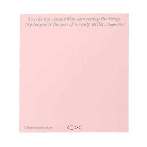 Christian Notepad