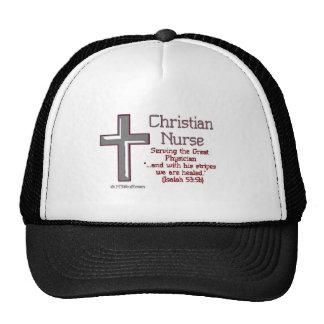 Christian Nurse Cross2 Trucker Hat