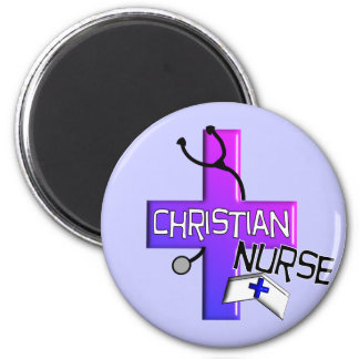Christian Nurse Gifts Magnet
