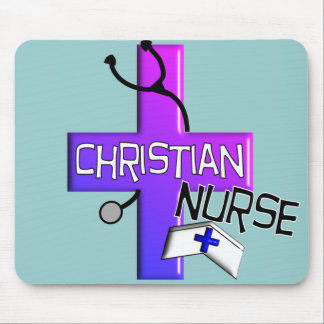 Christian Nurse Gifts Mouse Pad