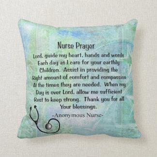 Christian Nurse Prayer Pillow