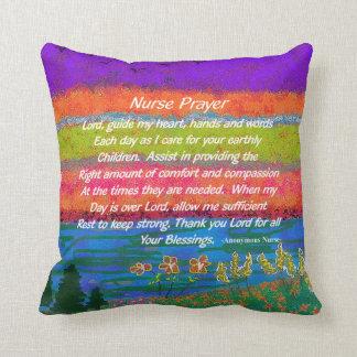 Christian Nurse Prayer Pillow II