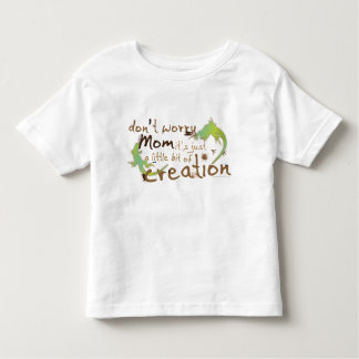 Christian organic toddler t-shirt - Just Creation