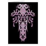 Christian Ornate Cross 19 Greeting Card