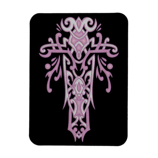 Christian Ornate Cross 19 Magnet