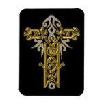 Christian Ornate Cross 24 Vinyl Magnets