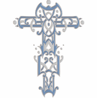 Christian Ornate Cross 40 Photo Cut Outs