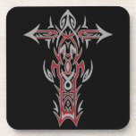 Christian Ornate Cross 42 Beverage Coasters