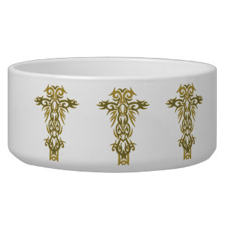Christian Ornate Cross 44 Bowl