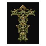 Christian Ornate Cross 47 Custom Flyer