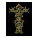 Christian Ornate Cross 47 Postcards