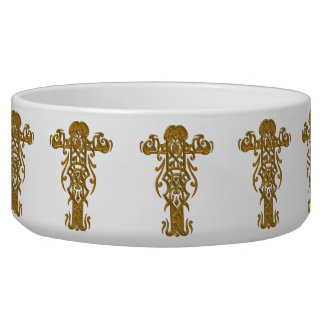Christian Ornate Cross 49 Bowl